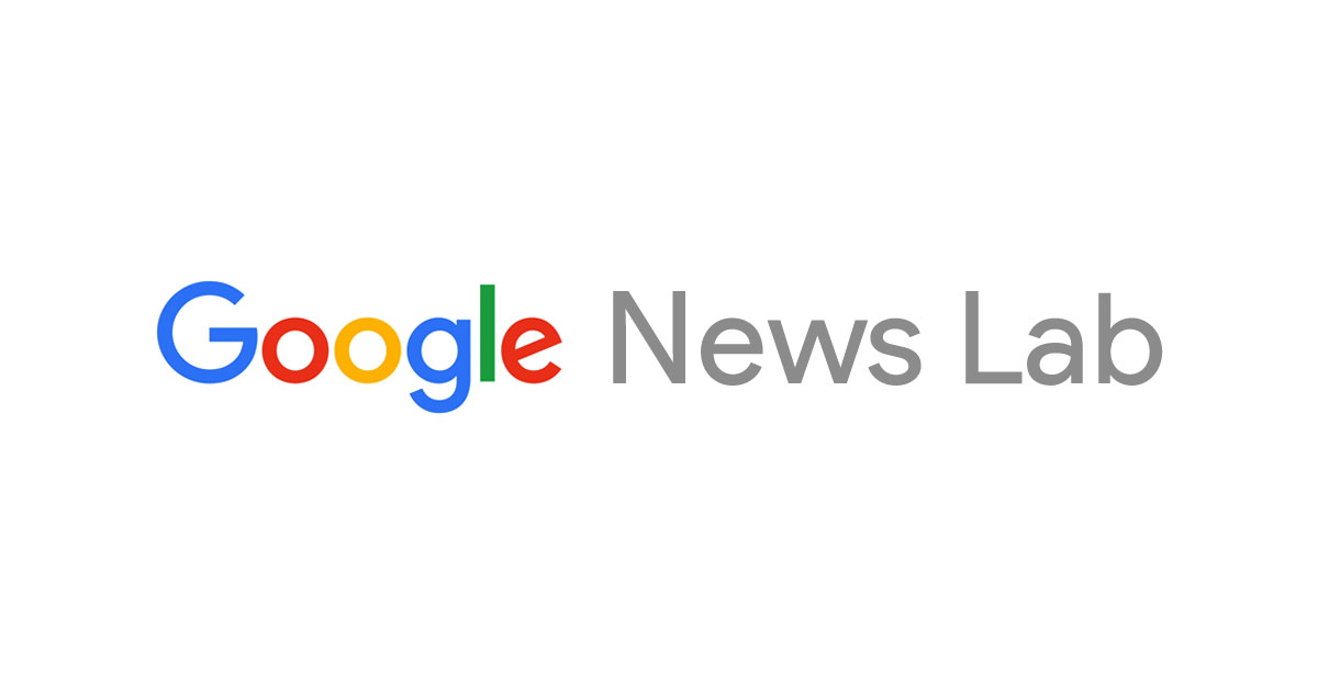 Logo do patrocínio Patrocínio Google News Lab